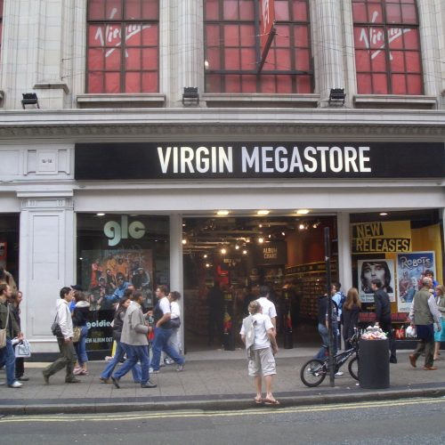 Virgin Megastores | Entertainment Retail Chain
